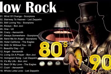 Scorpions, Led Zeppelin, Bon Jovi, U2, Aerosmith | Best Slow Rock Ballads 70s, 80s, 90s Collection