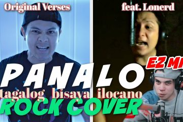 """PANALO"" – Ez Mil // Rock Cover by The Ultimate Heroes + Lonerd (Original Verse by Lonerd)"