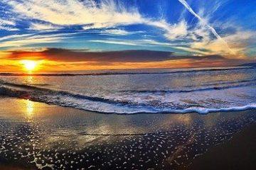 احلى فيديو رومنسي لغروب الشمس من الشاطئ  Sunset beach  lounge music 2020