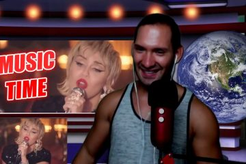 Miley Cyrus – my future (Billie Eilish cover) in the Live Lounge REACTION