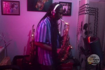 Saxman Jerry Johnson (Give to Reggae music project)