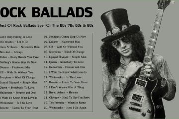 Rock Ballads Collection | The Best Of Rock Ballads Ever Of The 60s 70s 80s & 90s