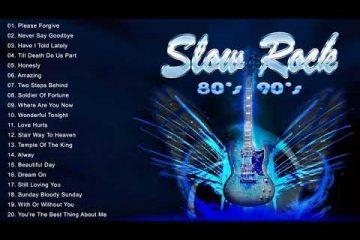 Scorpions, Led Zeppelin, Bon Jovi, U2, Aerosmith   Best Slow Rock Ballads 70s 80s 90s Collection