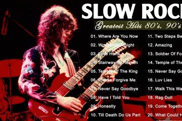 GNR, Scorpions, Led Zeppelin, Bon Jovi, U2, Aerosmith – Best Rock Ballads 80s, 90s