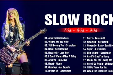 Slow Rock Nonstop Collection – Nirvana, Scorpions, U2, Bon Jovi, Aerosmith
