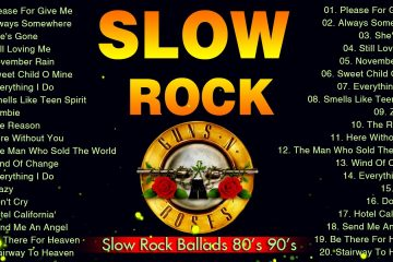 Best Slow Rock Ballads 80's 90's – Scorpions, Bon Jovi, Aerosmith, Led Zeppelin, U2, Guns N' Roses