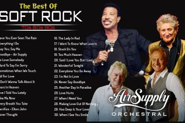 Rod Stewart, Air Supply, Bee Gees, Chicago, MLTR, Michael… |  Soft Rock Songs 70s 80s 90s