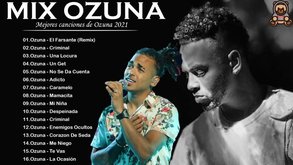 Mix Ozuna Éxitos De 2021   Reggaeton Mix 2021 Lo Mas Nuevo En Éxitos   Ozuna Álbum completo 2021