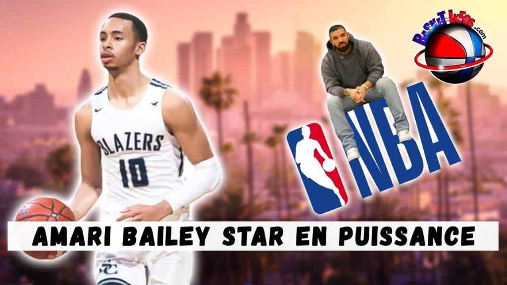 Amari Bailey, le petit protégé de Drake, qui a tout pour devenir un grand en NBA