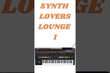 SYNTH LOVERS LOUNGE (free for profit) #shorts